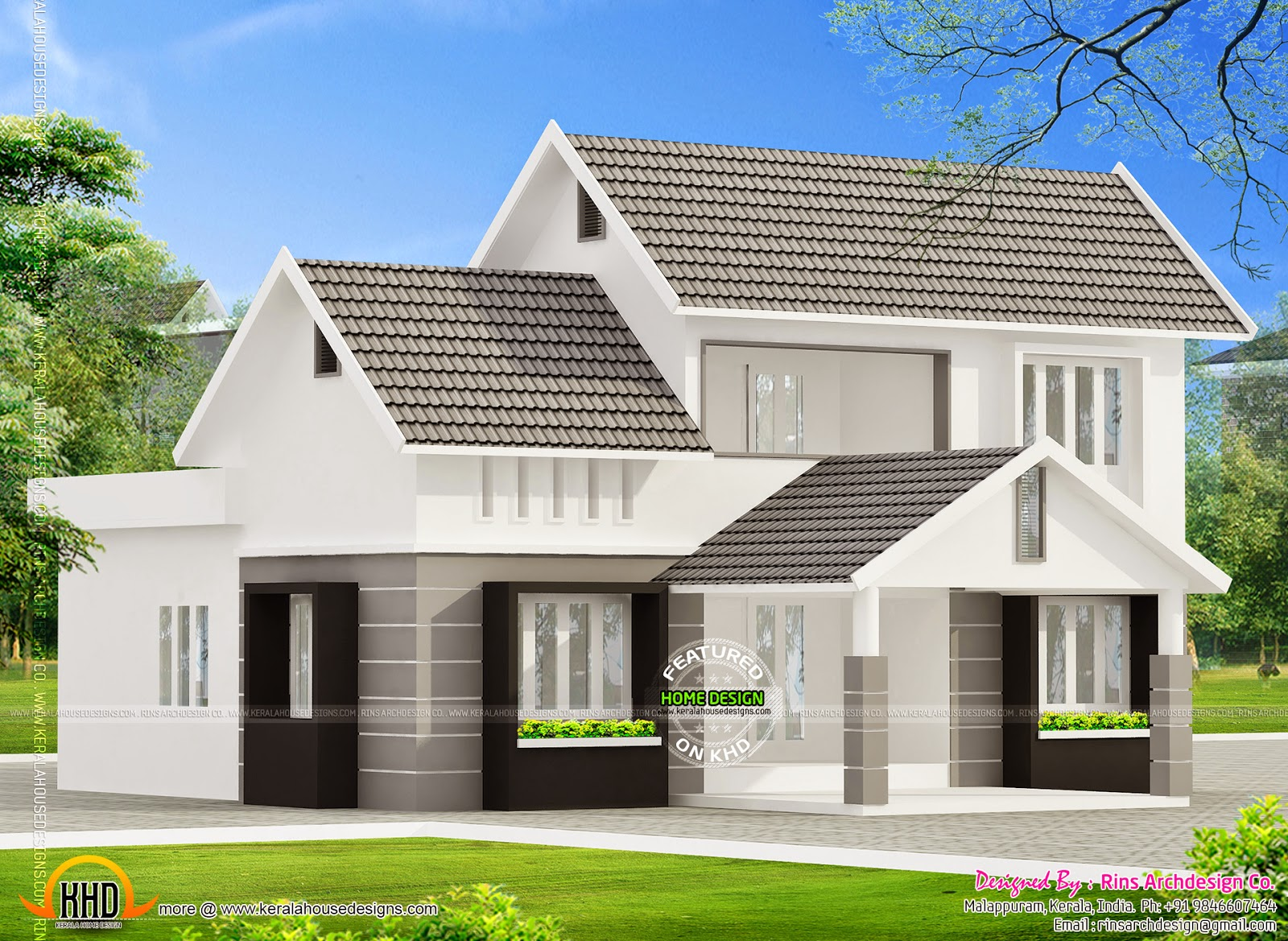 Kerala house plans 1800 square feet for One story 1800 sq ft house plans