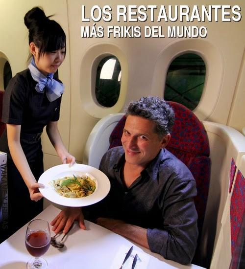 Los restaurantes mas frikis del mundo