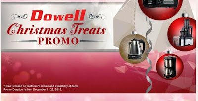 Promo Alert! Dowell Christmas Treats