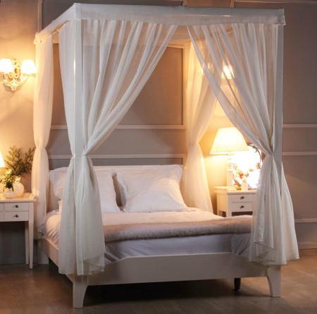 Icono interiorismo camas con dosel elegancia para el - Cama con dosel ...