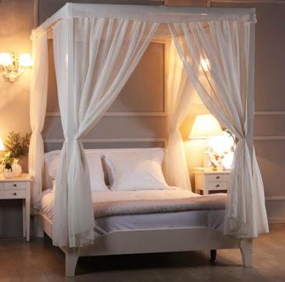 Camas con Dosel: Elegancia para el dormitorio