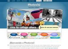 Crear collages online: Photovisi