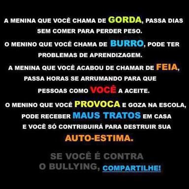 Projeto Bullying Bullying Através De Frases