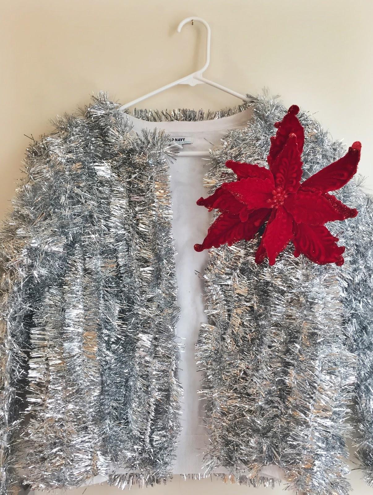 Tis The Season To Sparkle Diy Ugly Sweater A Shot Of Brandi