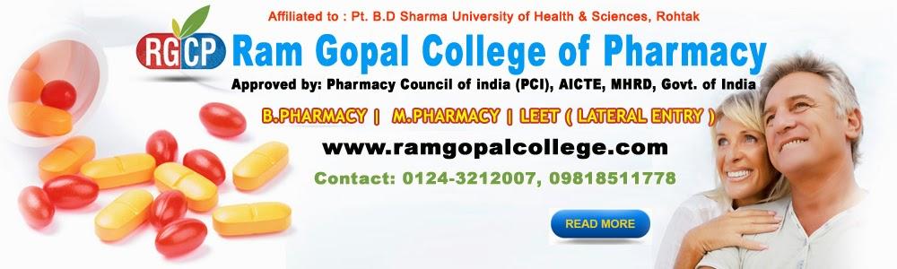 M.Pharmaceutics College Delhi NCR