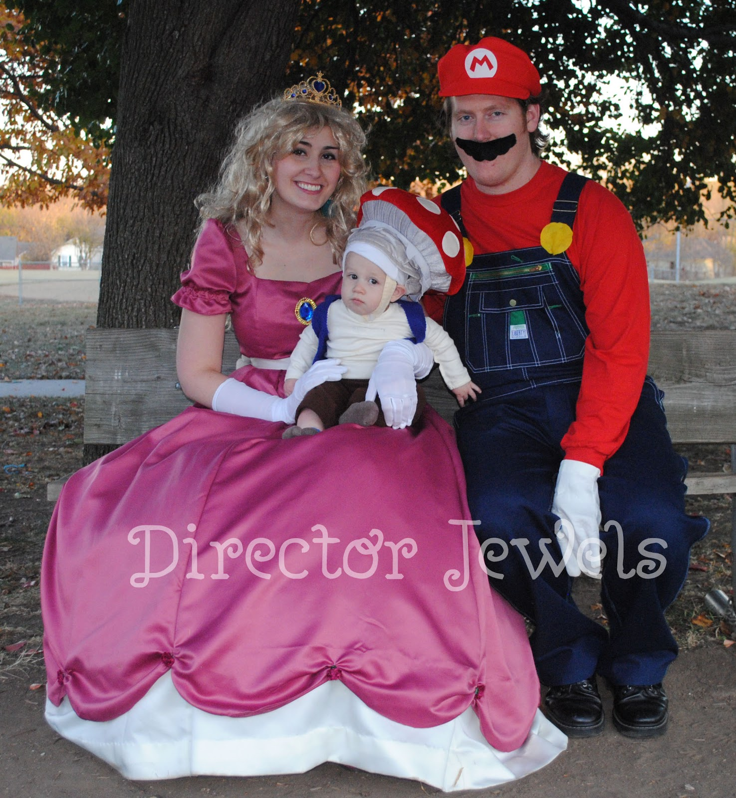 director jewels: it's-a-nintendo super mario brothers halloween!