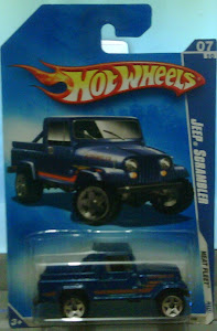 HW JEEP SCRAMBLER BLUE