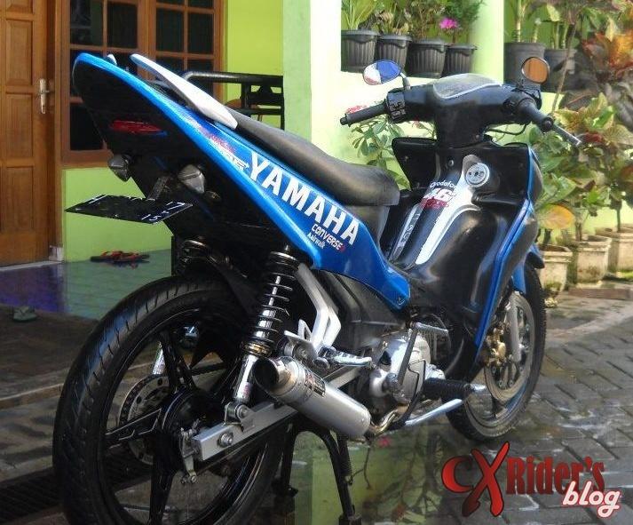 15 Foto Modifikasi Motor Yamaha Jupiter Z 9 Out Of 10 Based On 10  title=