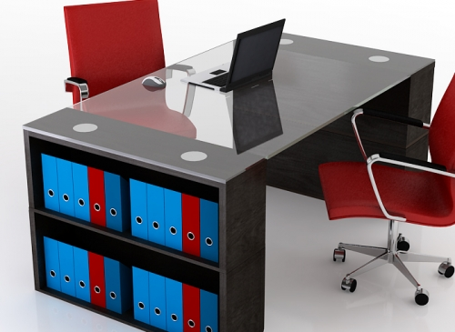 Fashion for girls office tables designs 2012 for Simple office furniture design