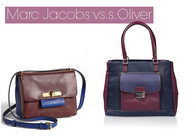 "Original vs. Budget #2: Die Marc Jacobs ""East End – Colorblocked Miss Bliz"""