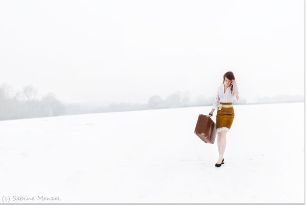 Psynopsis Fashion Shoot Harriet in Snow