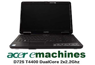 Acer eMachines D725 Notebook