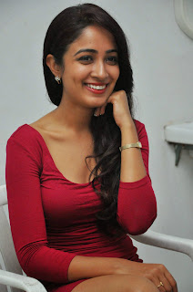 Actress Aditi Chengappa Pictures in Short Dress at Moodu Mukkallo Cheppalante Audio Launch 28