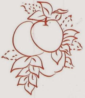desenho de laranjas para pintar