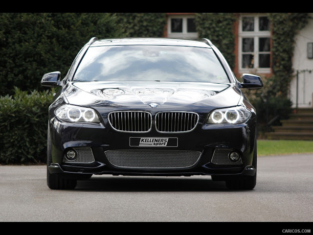 Front photo of BMW 5