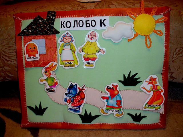 Фланелеграф для детского сада мастер класс