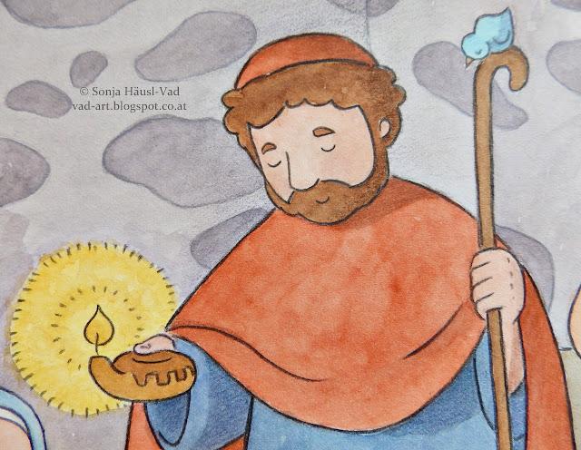 Jesličky, Betlém, puzzle