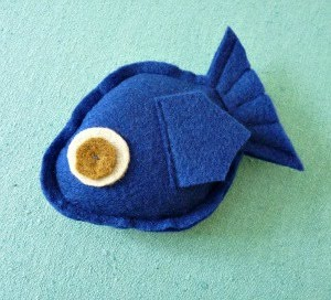 DIY Catnip Stuffed Fish