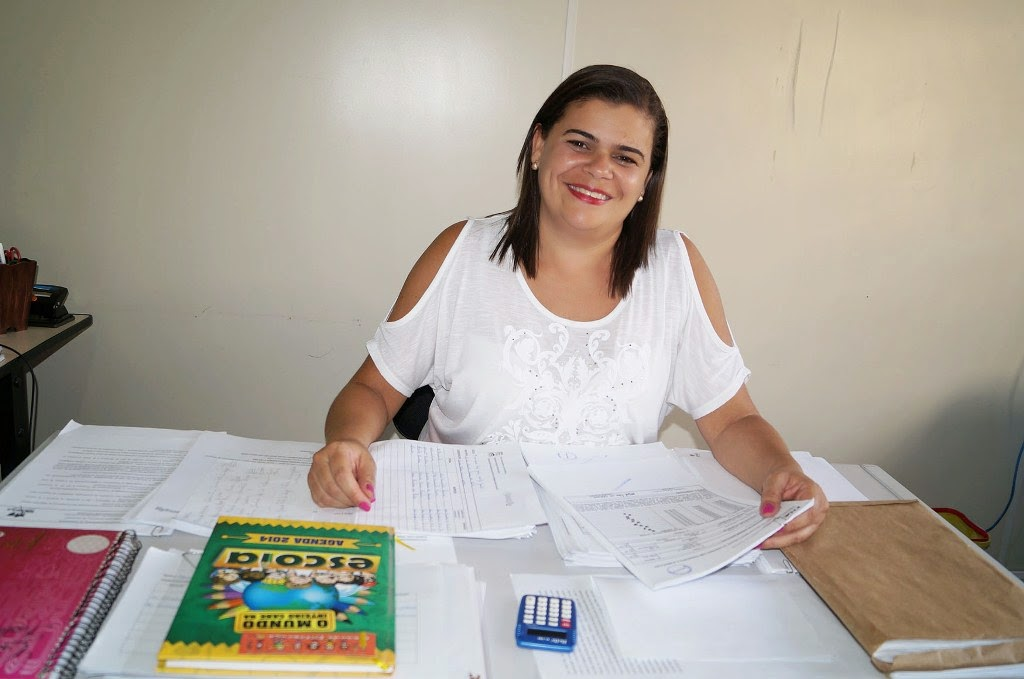 A professora Marcia Maria, responsável pela inscrição das escolas, comemorou o grande número de escolas aprovadas no projeto