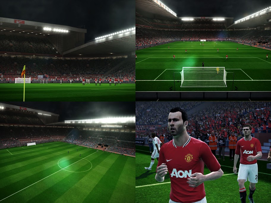Old Trafford for PES 2012 Demo by Spong