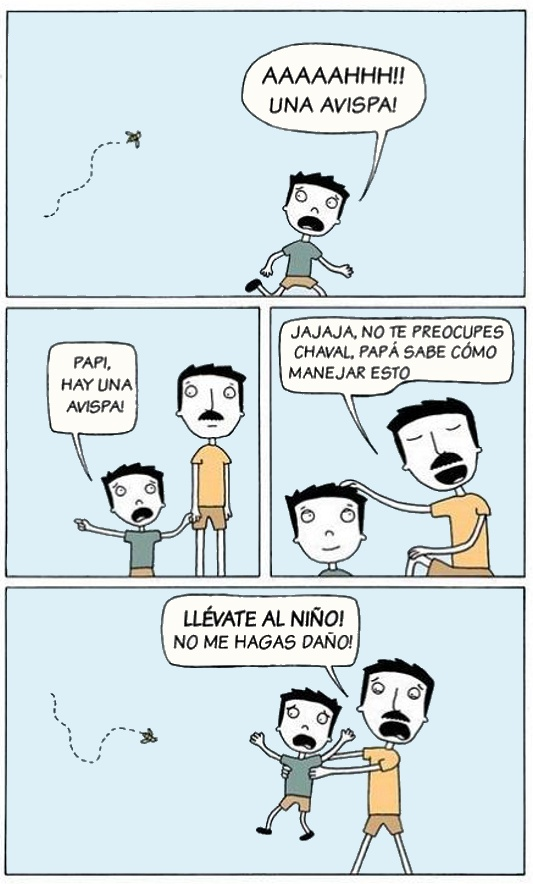 humor grafico padres