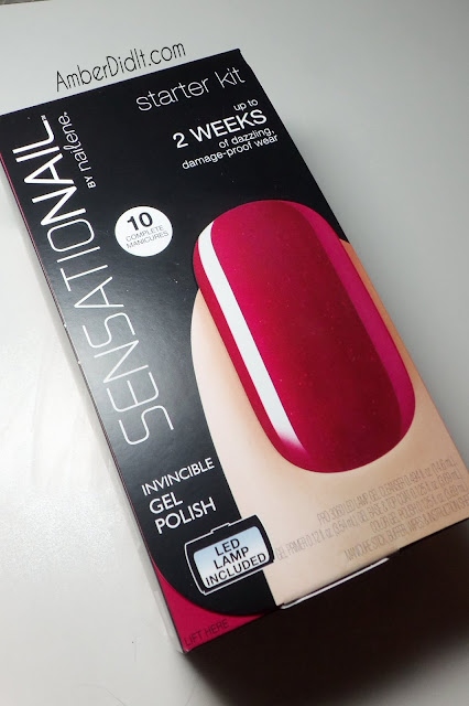 Amber Did It Sensationail Gel Polish System Review And Swatches