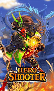 Screenshots of the Hero shooter for Android tablet, phone.