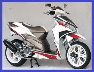 Honda Vario Techno CBS Gaya Racing Elegan Gambar Foto Modifikasi Motor Terbaru 1.jpg