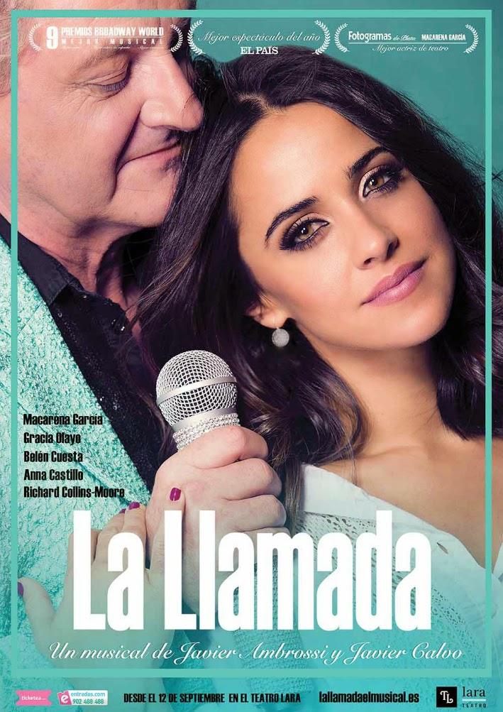 Cartel del musical La Llamada
