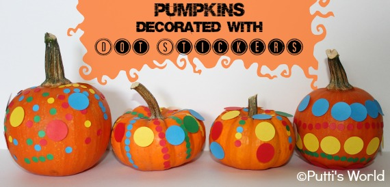 Pumpkins Decoration kids stickers