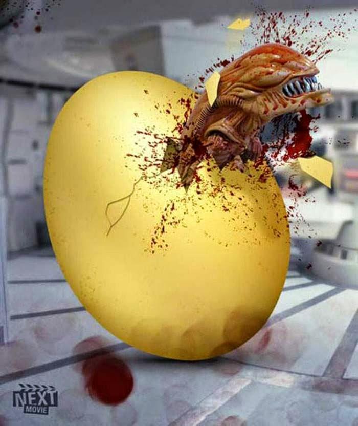 Publicidad Creativa, Pascua, Next Movie, Aliens