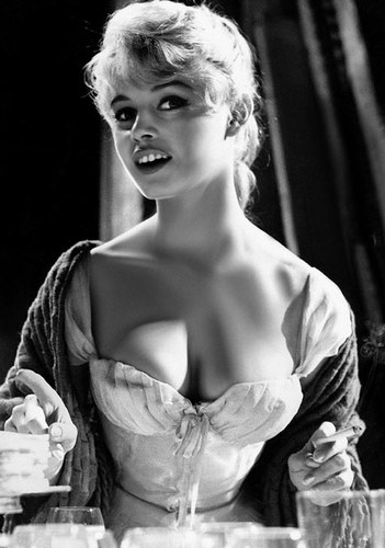 A neckline style was even named after her...the 'Bardot' which is a wide ...
