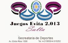 Enlace Juegos Evita Salta 2013