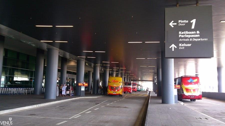 bus bandara klia 2