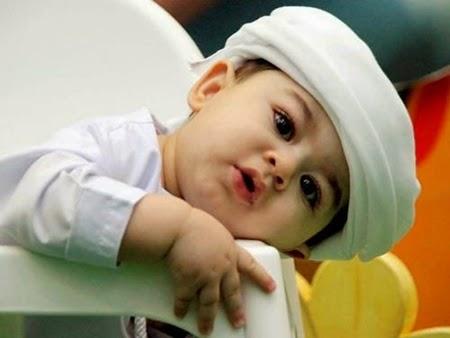 Cute Muslim Baby Boy