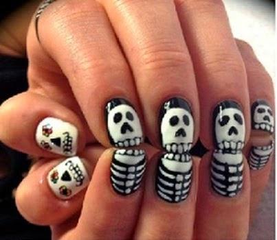 Scary Nail Art Designs