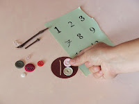 tutoriel création d'un calendrier de l'avent recup et créatif diy par l'artiste severine peugniez