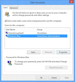 Cara Mudah Ganti Nama User Account Windows 8
