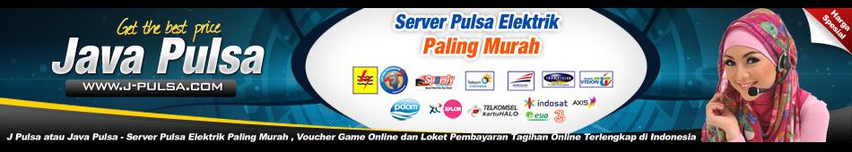Java Pulsa Murah - Bisnis Pulsa Elektrik Paling Murah