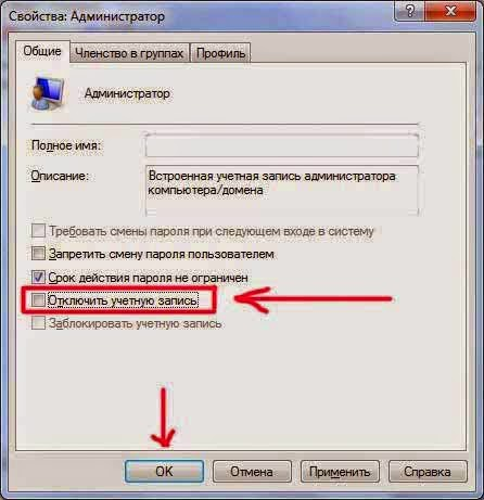 Как сделать пользователя администратором windows