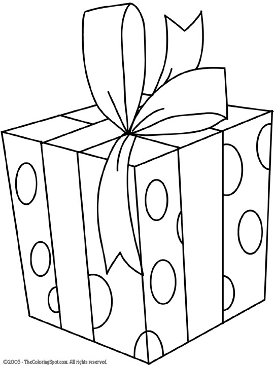 gifts coloring pages - photo#28