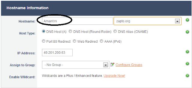 static ip address how to change iinet