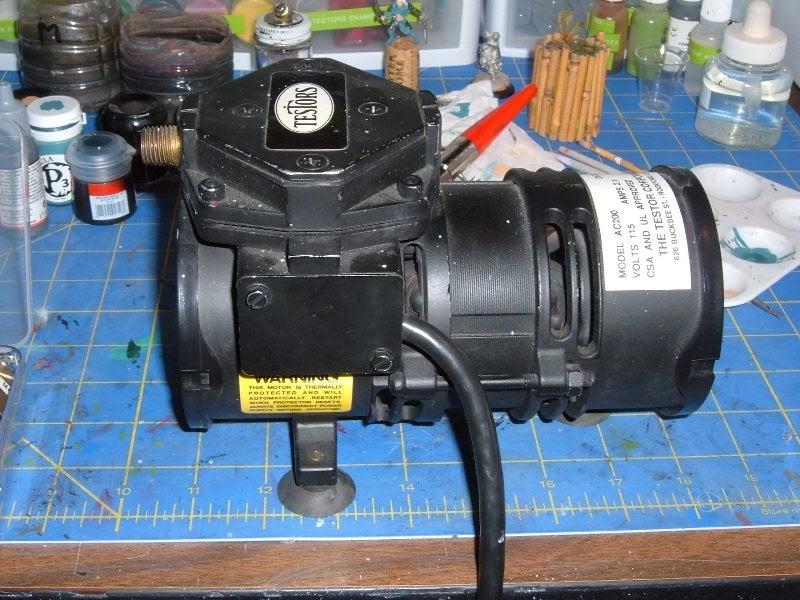 The Leadhead New Airbrush Compressor