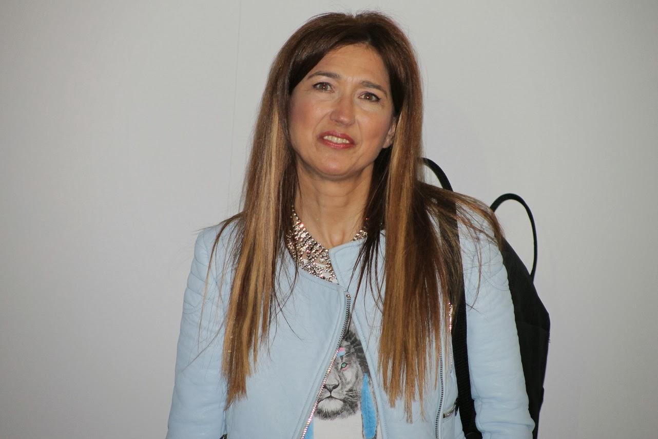 Carmen Hummer, street style, blogger, blog de moda, look en azul