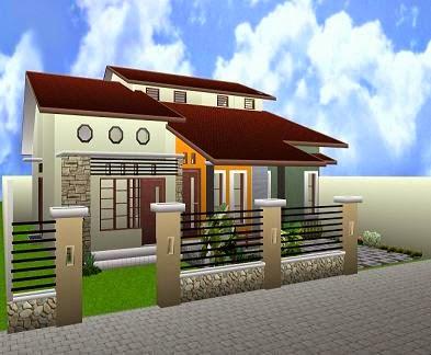 Desain Rumah Sederhana 2014 Terbaru