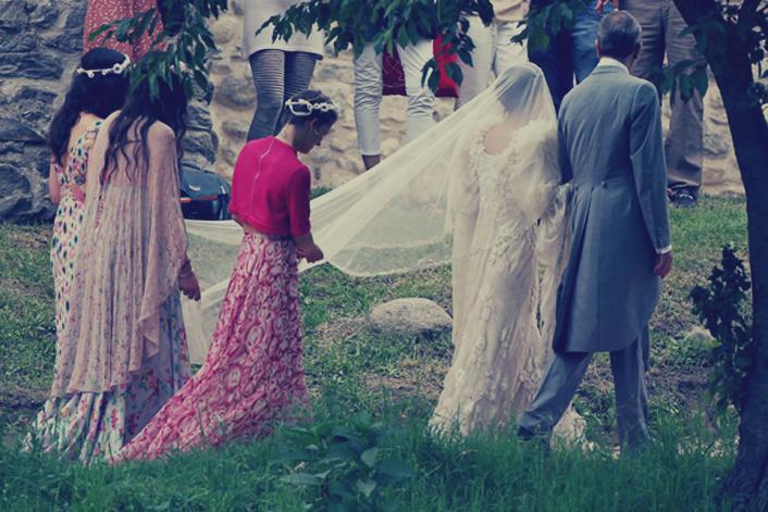 Todas las fotos de la romántica boda de Margherita Missoni y Eugenie Amos