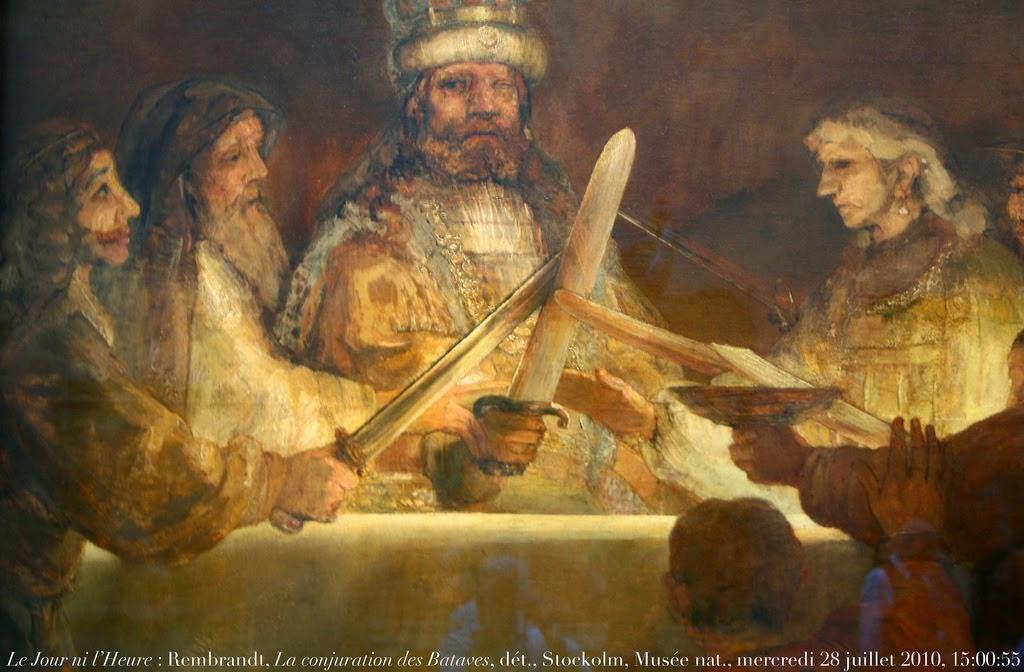 Rembrandt - La Conjuration des Bataves