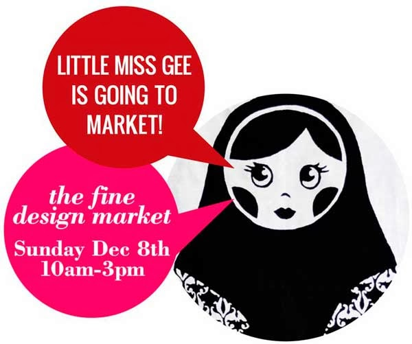 little miss gee is going to market