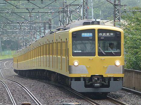 西武新宿線 拝島快速 西武新宿行き4 新101系(廃止)