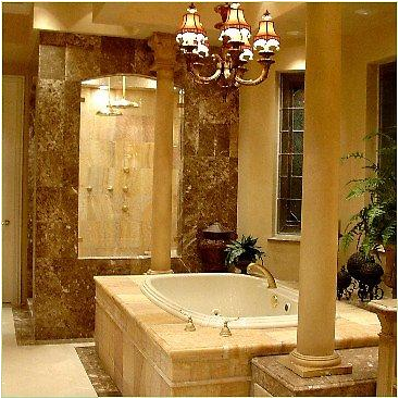 Key interiors by shinay tuscan bathroom design ideas Roman style bathroom designs